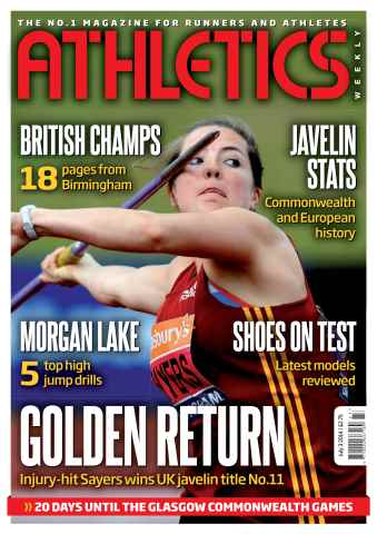 Athletics Weekly issue 03/07/2014