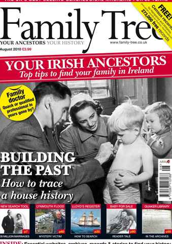 Family Tree issue August 2010