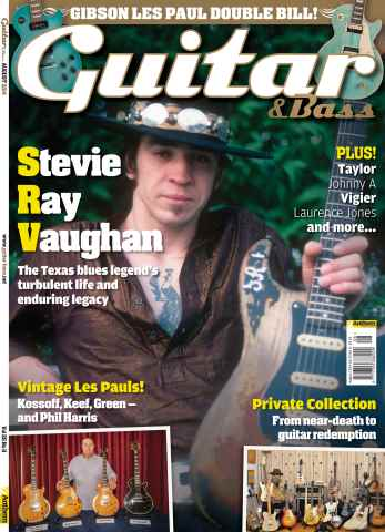 Guitar & Bass Magazine issue Guitar & Bass Magazine Aug-14