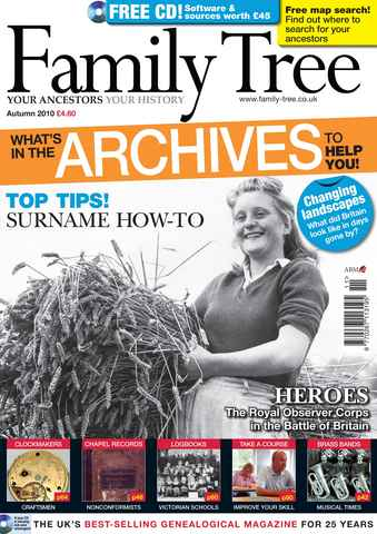 Family Tree issue Autumn 2010