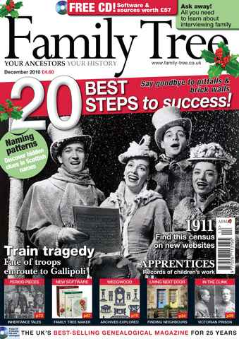 Family Tree issue December 2010
