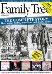 Family Tree issue July 2010