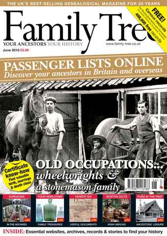Family Tree issue June 2010