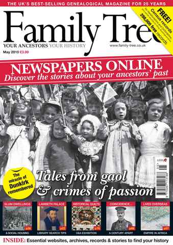 Family Tree issue May 2010