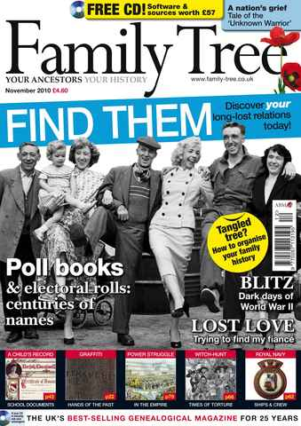 Family Tree issue November 2010