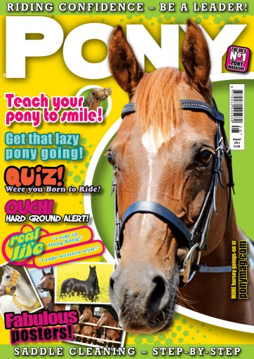 Pony Magazine issue August 2014 – PONY Magazine