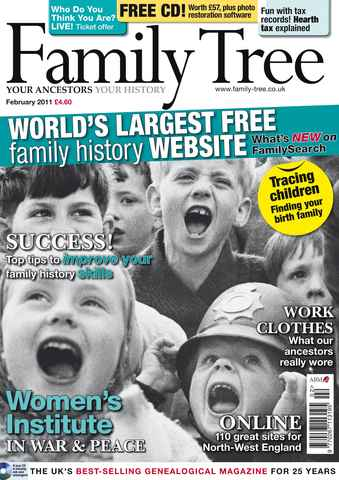 Family Tree issue February 2011