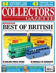 Collectors Gazette issue August 2014 Issue