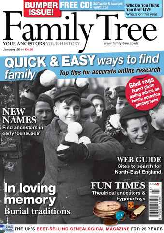 Family Tree issue January 2011