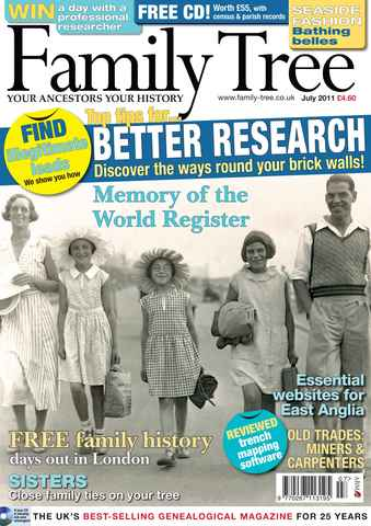 Family Tree issue July 2011