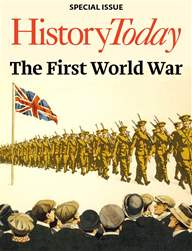 History Today issue Special Issue: The First World War