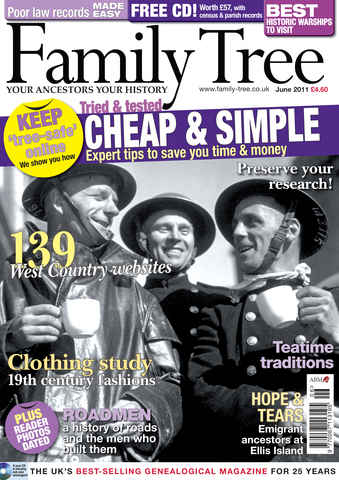 Family Tree issue June 2011
