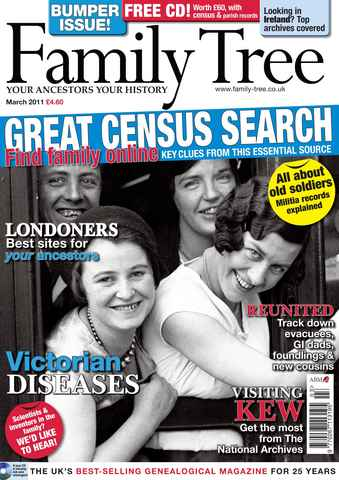 Family Tree issue March 2011