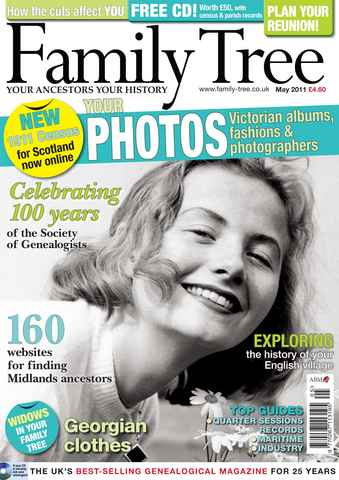 Family Tree issue May 2011