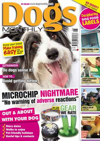 Dogs Monthly issue June 2010