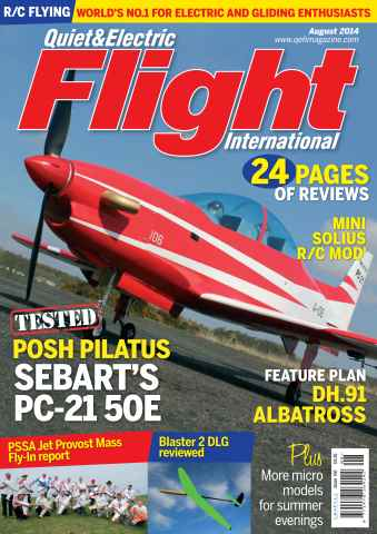 Quiet & Electric Flight Inter issue August 2014.