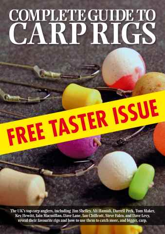 Total Carp issue Complete Guide To Carp Rigs - FREE TASTER ISSUE