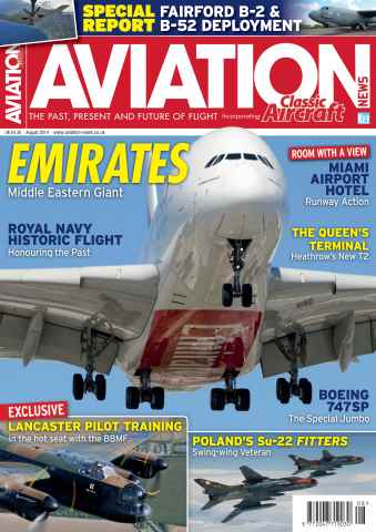 Aviation News issue August 2014
