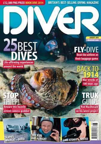DIVER issue AUGUST 2014