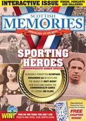 Scottish Memories issue August - Sports Special