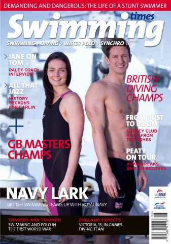 Swimming Times issue August 2014