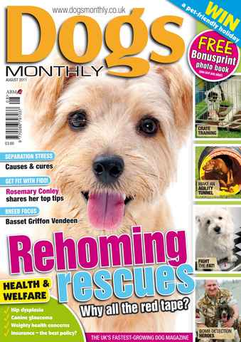 Dogs Monthly issue August 2011