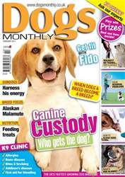 Dogs Monthly issue February 2011