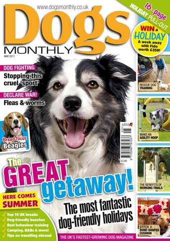Dogs Monthly issue May 2011