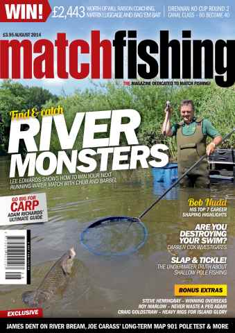Match Fishing issue Aug-14