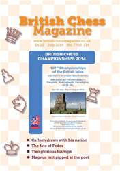 British Chess Magazine issue July 2014