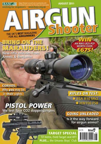 Airgun Shooter issue August 2011