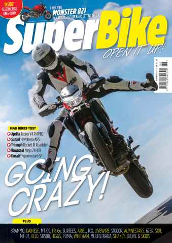Superbike Magazine issue August 2014