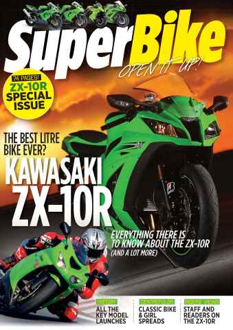 Superbike Magazine issue SuperBike ZX-10 Special