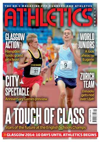 Athletics Weekly issue 17/07/2014