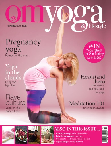 OM Yoga UK Magazine issue September 2014