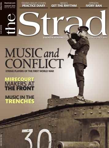 The Strad issue August 2014