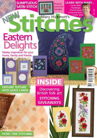New Stitches issue Issue 256