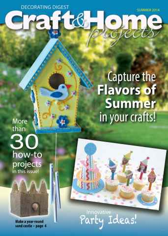 Craft & Home Projects issue Summer 2014