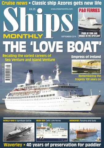 Ships Monthly issue No.597 The 'Love Boat'