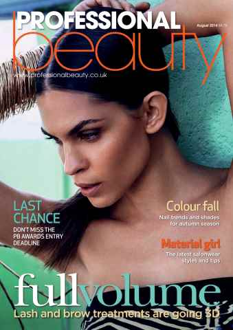 Professional Beauty issue Professional Beauty August 2014