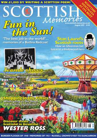 Scottish Memories issue August 2011