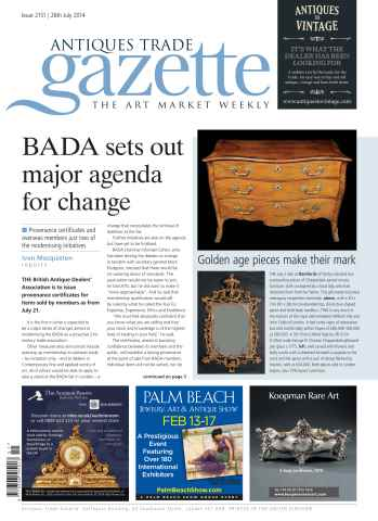 Antiques Trade Gazette issue ATG Issue 2151