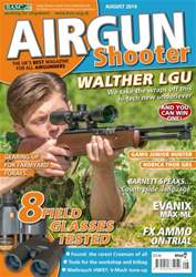 Airgun Shooter issue August 2014