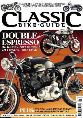 Classic Bike Guide issue August 2014