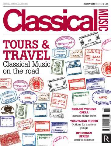 Classical Music issue August 2014