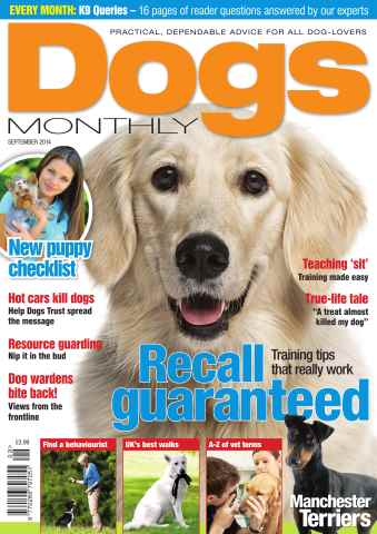 Dogs Monthly issue Sep-14