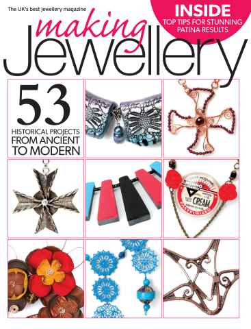 Making Jewellery issue August 2014