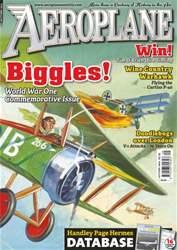 Aeroplane issue No.497 Biggles! WWI Commemorative Issue