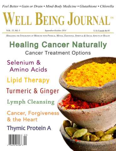 Well Being Journal issue September/October 2014