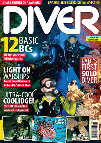 DIVER issue August 2011